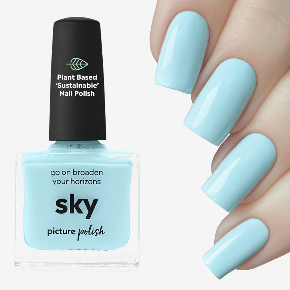 Sky Nail Polish