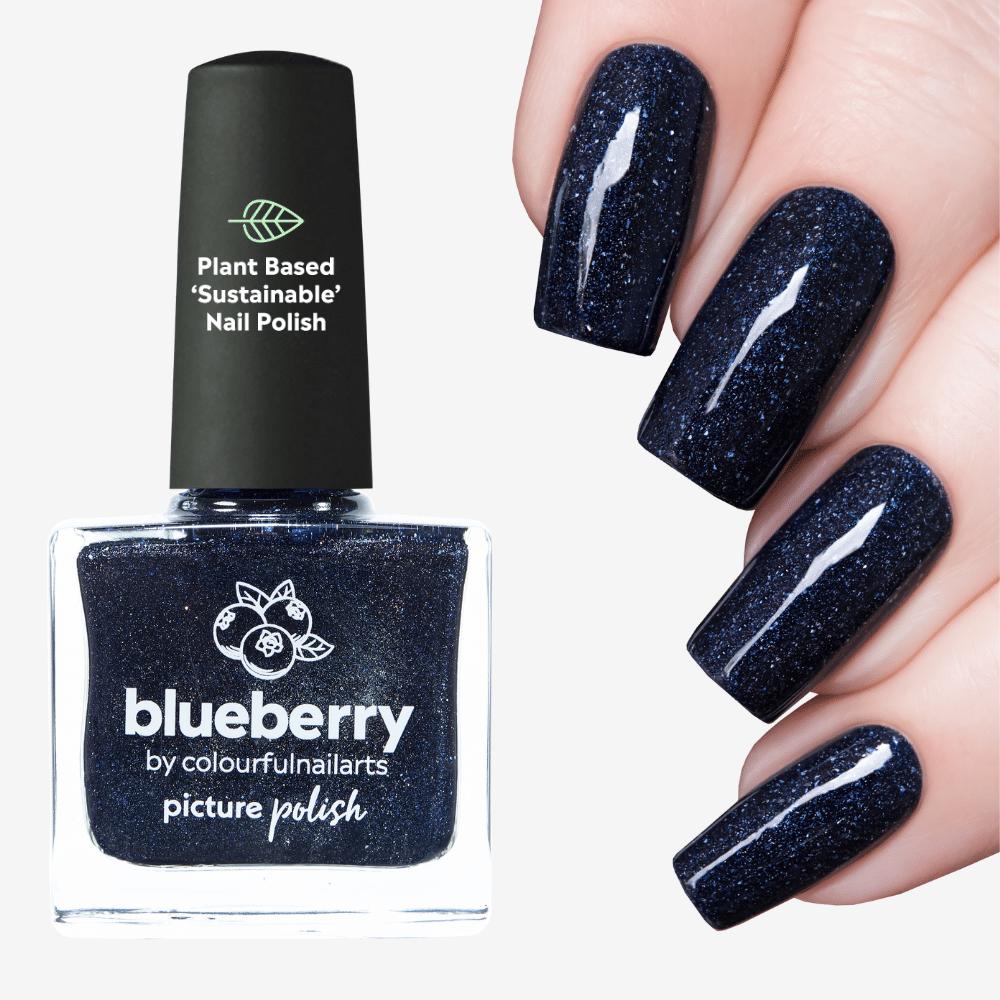 Blueberry Nail Polish