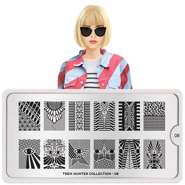 MoYou London Stamping Plate Trend Hunter 08